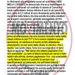 COMUNICATO M5S SULLA NUOVA SOCIETA' COMUNALE